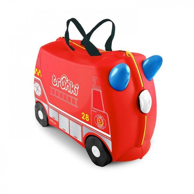 Frank das Feuerwehrauto Kinderkoffer