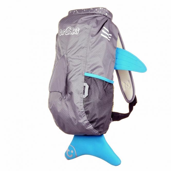 Fin der Hai Kinderrucksack Large