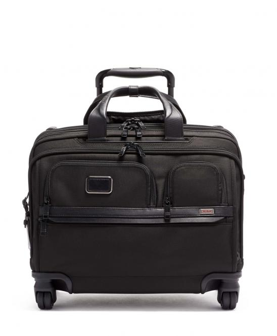 DLX Laptop-Briefcase 4w aus Ballistic Nylon black