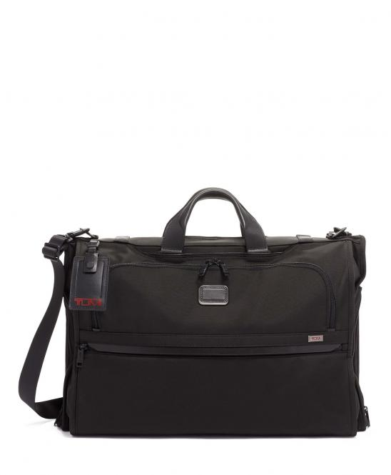 Kleidersack in Handgepäcksgröße (gefaltet) black