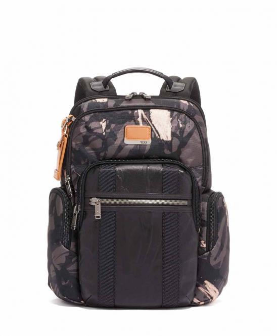 Nellis Rucksack Grey Highlands Print