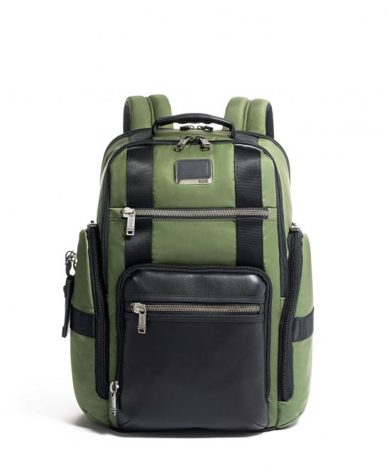 """Sheppard Deluxe Brief Pack Rucksack 15"""" Forest"""