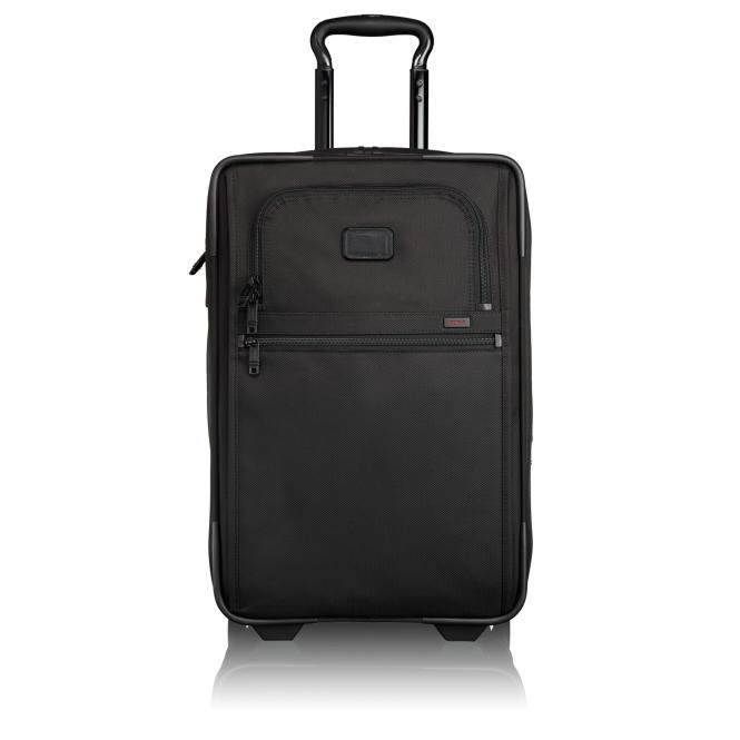 Carry-On 2-Rollenkoffer erweiterbar Black