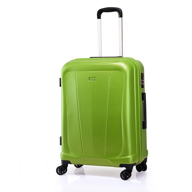 Trolley L 4R 78cm, erweiterbar Lime Green