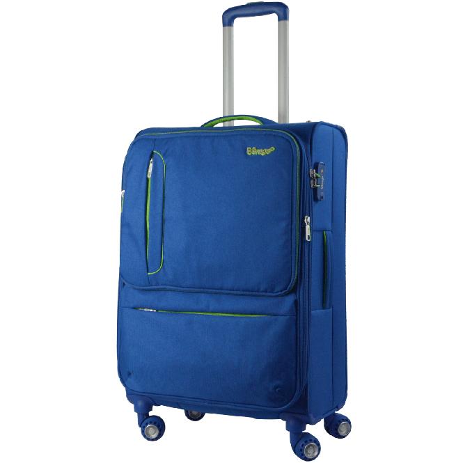 Trolley M 4R 68cm, erweiterbar, teilbar Blue