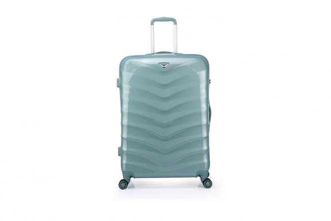 Trolley L 4R 75cm Smoke Blue