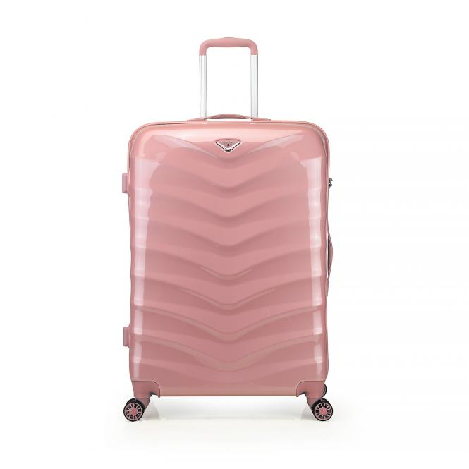 Trolley M 4R 66cm Rose Gold