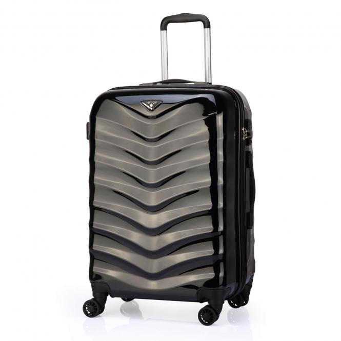 Trolley S 4R 55cm Black