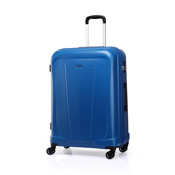 Trolley S 4R 55cm, erweiterbar Blue