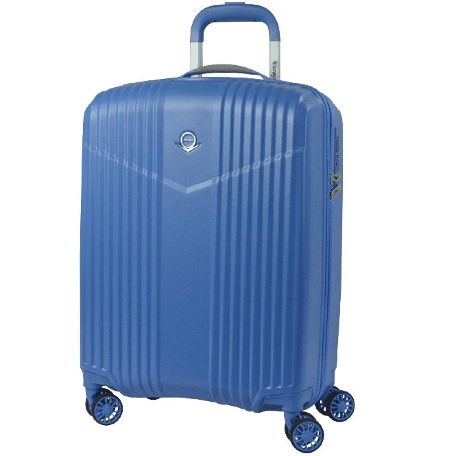Trolley M 4R 65cm Sky Blue