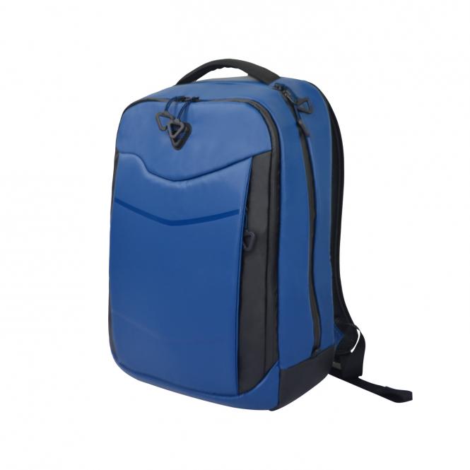 """13B Laptoprucksack 17"""" mit RFID-Schutz Blue"""