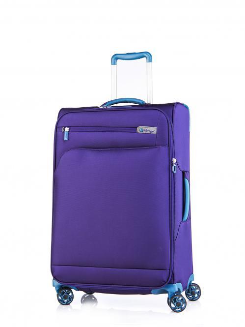 Trolley M 4R 69cm, erweiterbar Purple