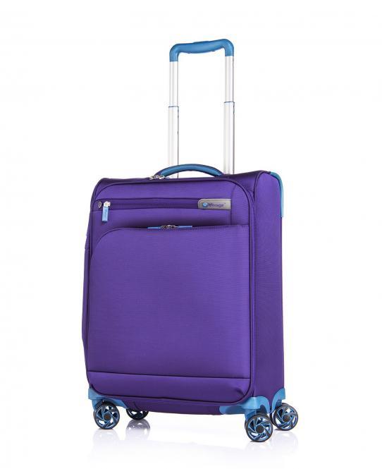 Trolley S 4R 55cm, erweiterbar Purple