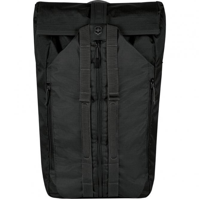 """Deluxe Duffel Laptop Backpack 15.4"""" Schwarz"""