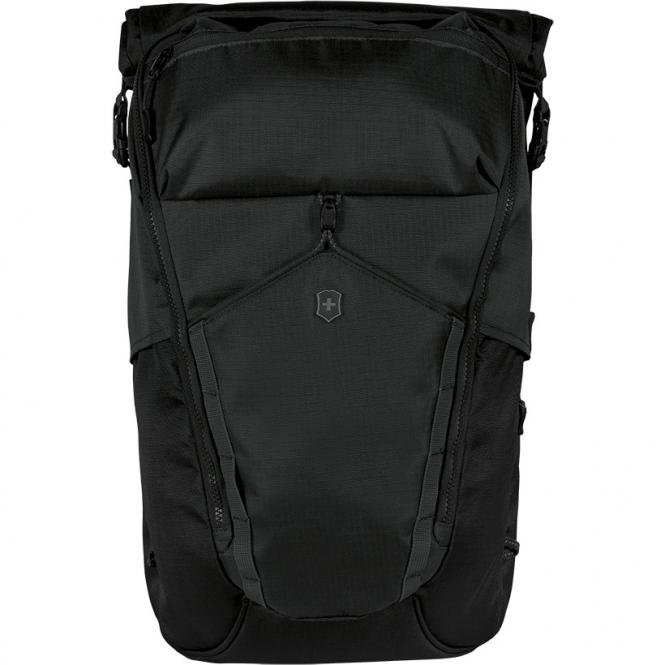 "Deluxe Rolltop Laptop Backpack 15.4"" Schwarz"