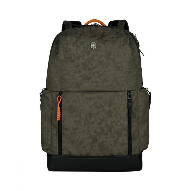 """Deluxe Laptop Backpack 15.4"""" Olive Camo"""