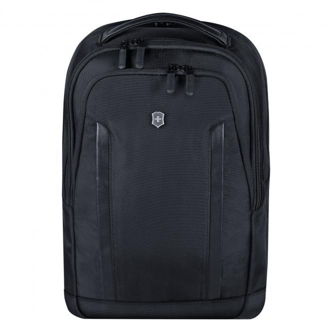 "Compact Laptop Backpack 15.4"" Schwarz"