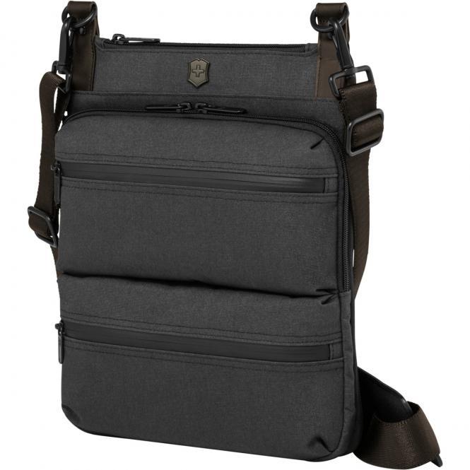 Wilson iPad Crossbody Bag 10 Zoll grau/braun