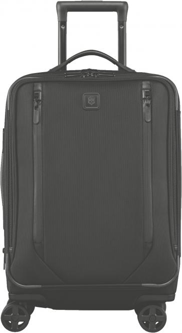 "Dual-Caster Global Carry-On mit Laptopfach 15.6"" Schwarz"