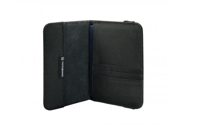 Passport Holder mit RFID-Schutz Black
