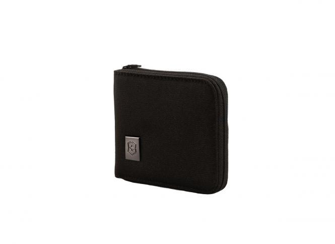 Zip-Around Wallet, Schwarz