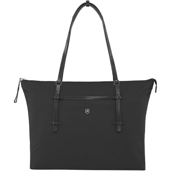 Charisma Carry-All Tote Damentragetasche mit 15,6 Zoll Laptopfach Schwarz