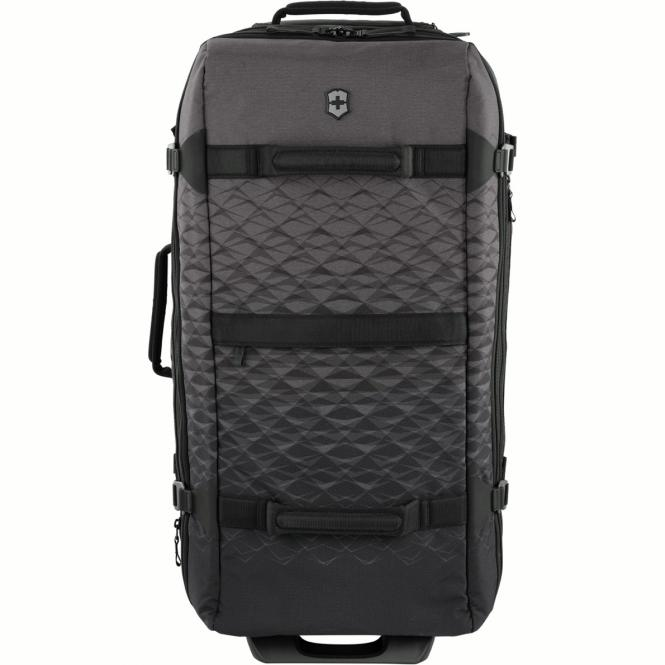 2-Wheeled Large Duffel expandable Anthracite