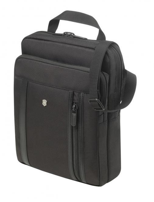 Crossbody Laptop Bag schwarz