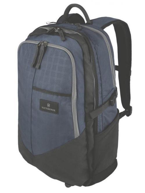 "Deluxe Laptop Backpack 17"" Navy/Black"