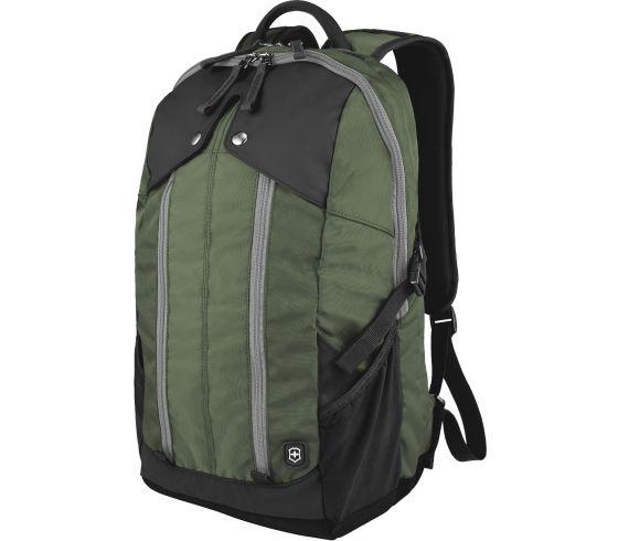 Slimline Laptop Backpack Green/Black