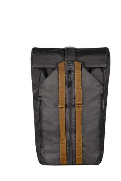 "Deluxe Duffel Laptop Backpack 15.4"" Grau"