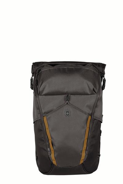 """Deluxe Rolltop Laptop Backpack 15.4"""" Grau"""