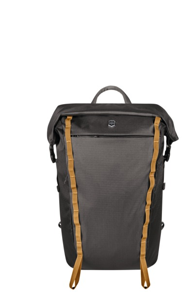 "Rolltop Laptop Backpack 15.4"" Grau"