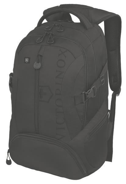 Scout Backpack mit 16 Zoll Laptopfach Schwarz