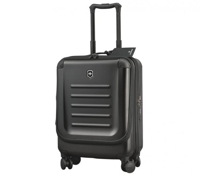 Dual-Access Global Carry-On Schwarz