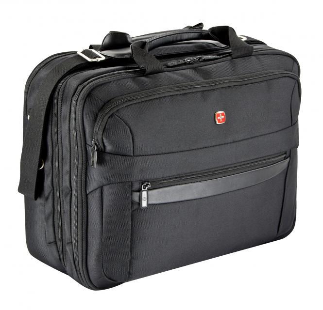 Businesstasche 3 Fächer mit Laptoptasche 17 Zoll