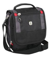 Mini-Bordgepäcktasche Schwarz