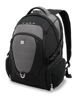 Laptop Rucksack mit Laptopfach 15 Zoll Schwarzgrau