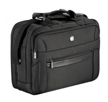 RV-Businesstasche, 2-teilig, 15 Zoll Schwarz
