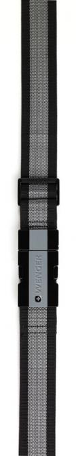 Kofferband für Gepäck bis 183 cm Umfang Schwarz