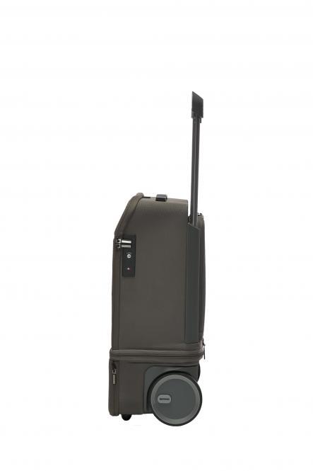 Carry on, erweiterbar, mit Powerbank und USB-Anschlüssen Dark Grey - Graphite