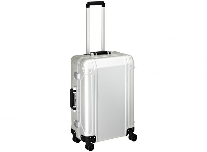 4 Wheel Spinner Travel Case 24 Zoll silver