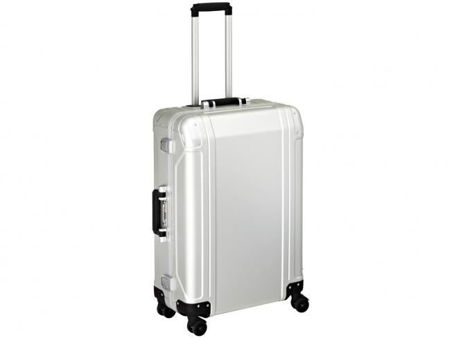 4 Wheel Spinner Travel Case 26 Zoll Silver