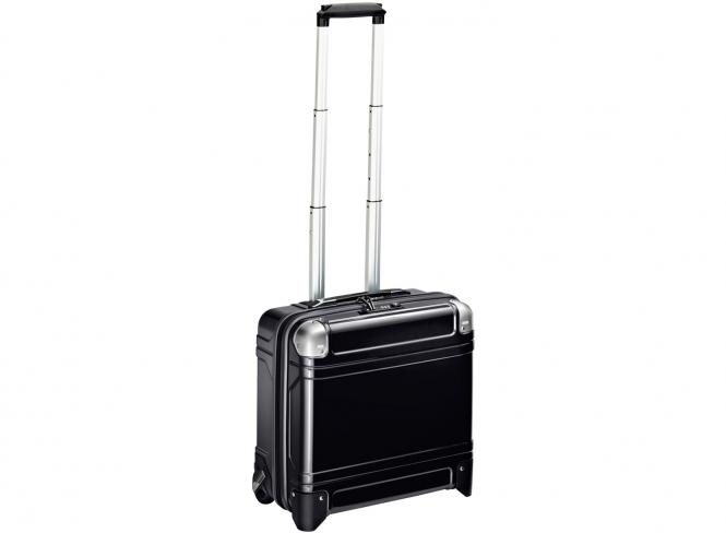 Wheeled Business Case 17 Zoll Black