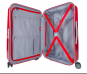 SuitSuit Red Diamond Crocodile Trolley M 67 cm spinner