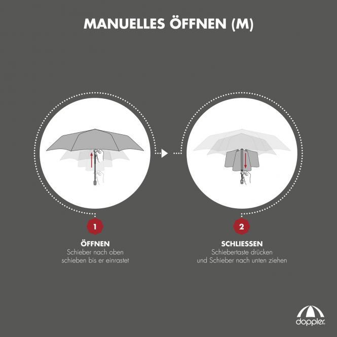 Mini Slim Royal Manuell Taschenschirm