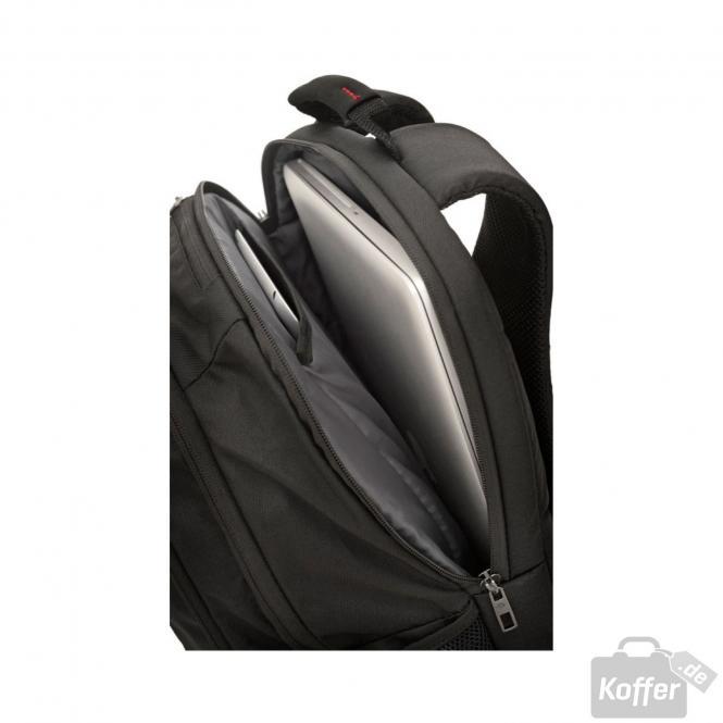 samsonite guardit laptop backpack l 17 3 black jetzt. Black Bedroom Furniture Sets. Home Design Ideas