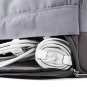 A E P Alpha Small Essential Backpack mit Laptopfach Creme White