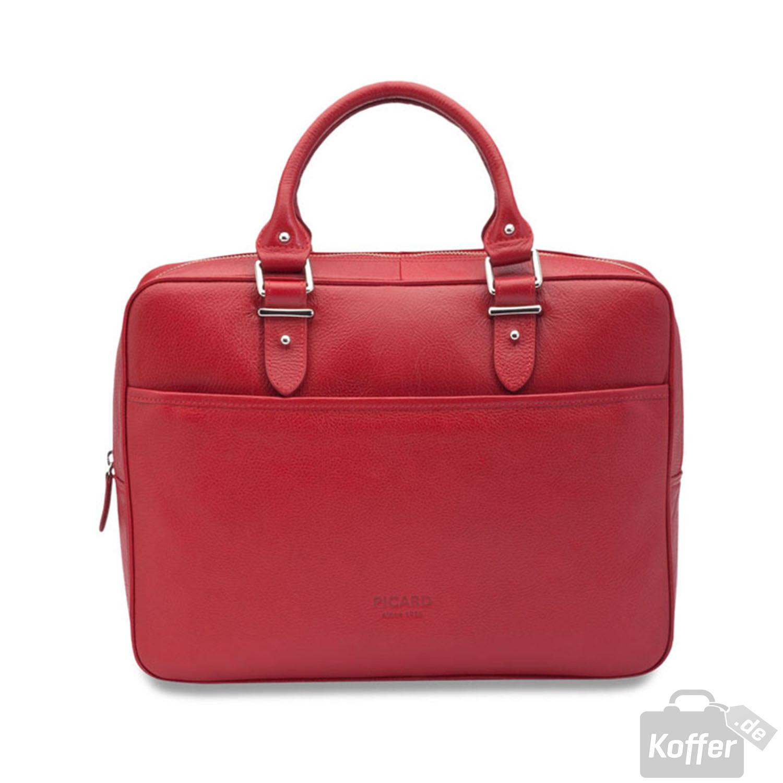picard busy damen laptoptasche 26 cm rot jetzt auf. Black Bedroom Furniture Sets. Home Design Ideas