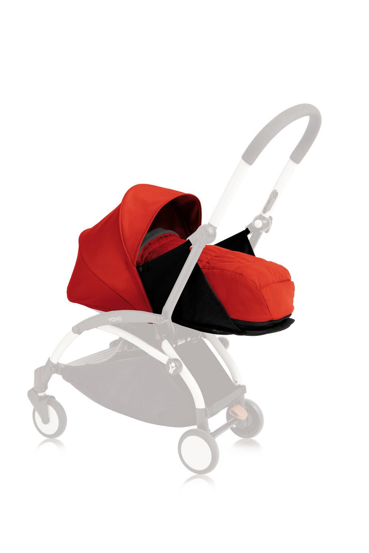 Babyzen Yoyo+ 0+ Neugeborenen-Set Rot BZ10107-04